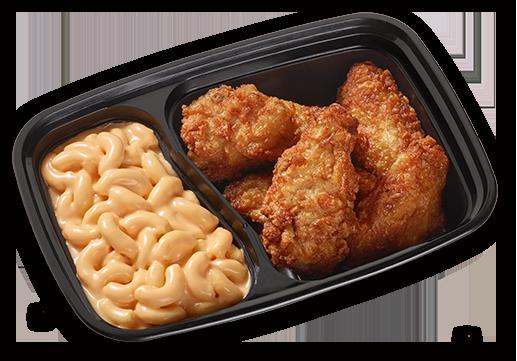 pair mac cheese fried chicken